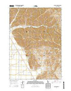 Seamans Creek Idaho Current topographic map, 1:24000 scale, 7.5 X 7.5 Minute, Year 2013 from Idaho Map Store