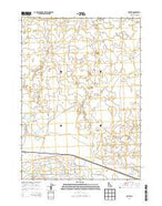 Senter Idaho Current topographic map, 1:24000 scale, 7.5 X 7.5 Minute, Year 2013 from Idaho Map Store