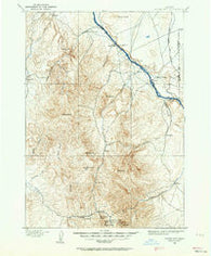 Silver City Idaho Historical topographic map, 1:125000 scale, 30 X 30 Minute, Year 1892