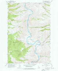 Slate Creek Idaho Historical topographic map, 1:24000 scale, 7.5 X 7.5 Minute, Year 1963