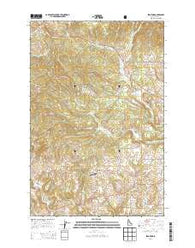 Stanford Idaho Current topographic map, 1:24000 scale, 7.5 X 7.5 Minute, Year 2014