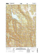 Tamarack Idaho Current topographic map, 1:24000 scale, 7.5 X 7.5 Minute, Year 2013 from Idaho Map Store