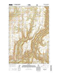 Texas Ridge Idaho Current topographic map, 1:24000 scale, 7.5 X 7.5 Minute, Year 2014