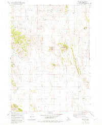 The Dip Idaho Historical topographic map, 1:24000 scale, 7.5 X 7.5 Minute, Year 1981