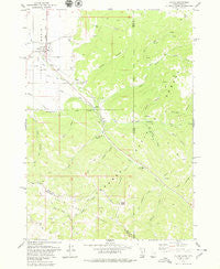 Victor Idaho Historical topographic map, 1:24000 scale, 7.5 X 7.5 Minute, Year 1978