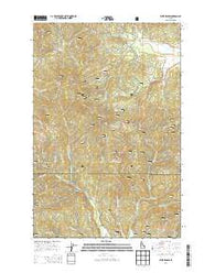 West Dennis Idaho Current topographic map, 1:24000 scale, 7.5 X 7.5 Minute, Year 2014