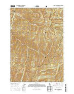 White Goat Mountain Idaho Current topographic map, 1:24000 scale, 7.5 X 7.5 Minute, Year 2013 from Idaho Map Store