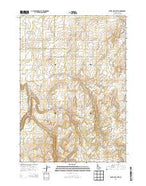 White Owl Butte Idaho Current topographic map, 1:24000 scale, 7.5 X 7.5 Minute, Year 2013 from Idaho Map Store