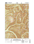 White Sand Lake Idaho Current topographic map, 1:24000 scale, 7.5 X 7.5 Minute, Year 2013 from Idaho Map Store