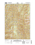Whitehawk Mountain Idaho Current topographic map, 1:24000 scale, 7.5 X 7.5 Minute, Year 2013 from Idaho Map Store