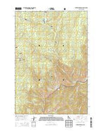 Whitewater Ranch Idaho Current topographic map, 1:24000 scale, 7.5 X 7.5 Minute, Year 2013 from Idaho Map Store