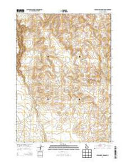 Wickahoney Crossing Idaho Current topographic map, 1:24000 scale, 7.5 X 7.5 Minute, Year 2013 from Idaho Maps Store