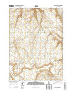Wickahoney Point Idaho Current topographic map, 1:24000 scale, 7.5 X 7.5 Minute, Year 2013 from Idaho Map Store