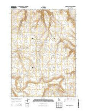 Wickahoney Point Idaho Current topographic map, 1:24000 scale, 7.5 X 7.5 Minute, Year 2013 from Idaho Maps Store