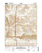 Andover Illinois Current topographic map, 1:24000 scale, 7.5 X 7.5 Minute, Year 2015 from Illinois Map Store