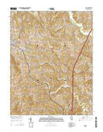 Anna Illinois Current topographic map, 1:24000 scale, 7.5 X 7.5 Minute, Year 2015 from Illinois Map Store