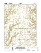 Annapolis Illinois Current topographic map, 1:24000 scale, 7.5 X 7.5 Minute, Year 2015 from Illinois Map Store