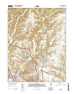 Bethalto Illinois Current topographic map, 1:24000 scale, 7.5 X 7.5 Minute, Year 2015 from Illinois Map Store