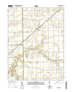 Brocton Illinois Current topographic map, 1:24000 scale, 7.5 X 7.5 Minute, Year 2015 from Illinois Map Store