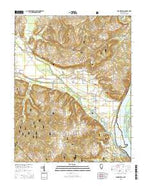 Brownfield Illinois Current topographic map, 1:24000 scale, 7.5 X 7.5 Minute, Year 2015 from Illinois Map Store
