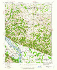 Campbell Hill Illinois Historical topographic map, 1:62500 scale, 15 X 15 Minute, Year 1916