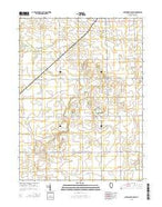 Chatsworth South Illinois Current topographic map, 1:24000 scale, 7.5 X 7.5 Minute, Year 2015 from Illinois Map Store