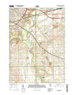 Cherry Valley Illinois Current topographic map, 1:24000 scale, 7.5 X 7.5 Minute, Year 2015 from Illinois Map Store