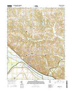 Chester Illinois Current topographic map, 1:24000 scale, 7.5 X 7.5 Minute, Year 2015 from Illinois Map Store