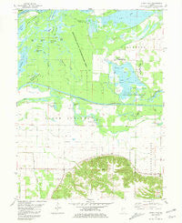 Clear Lake Illinois Historical topographic map, 1:24000 scale, 7.5 X 7.5 Minute, Year 1981