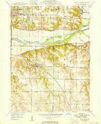 Coal Valley Illinois Historical topographic map, 1:24000 scale, 7.5 X 7.5 Minute, Year 1949