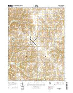 Columbus Illinois Current topographic map, 1:24000 scale, 7.5 X 7.5 Minute, Year 2015 from Illinois Map Store
