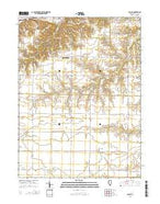 Colusa Illinois Current topographic map, 1:24000 scale, 7.5 X 7.5 Minute, Year 2015 from Illinois Map Store