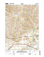 Como Illinois Current topographic map, 1:24000 scale, 7.5 X 7.5 Minute, Year 2015 from Illinois Map Store