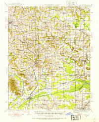 Dongola Illinois Historical topographic map, 1:62500 scale, 15 X 15 Minute, Year 1920