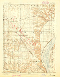 Dunlap Illinois Historical topographic map, 1:62500 scale, 15 X 15 Minute, Year 1893