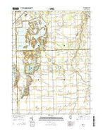 Essex Illinois Current topographic map, 1:24000 scale, 7.5 X 7.5 Minute, Year 2015 from Illinois Map Store