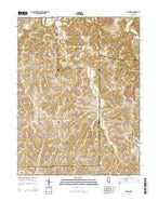 Fishhook Illinois Current topographic map, 1:24000 scale, 7.5 X 7.5 Minute, Year 2015 from Illinois Map Store