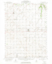 Flanagan Illinois Historical topographic map, 1:62500 scale, 15 X 15 Minute, Year 1958