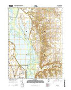 Florid Illinois Current topographic map, 1:24000 scale, 7.5 X 7.5 Minute, Year 2015 from Illinois Map Store