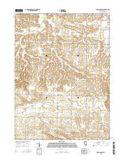 German Corner Illinois Current topographic map, 1:24000 scale, 7.5 X 7.5 Minute, Year 2015 from Illinois Maps Store