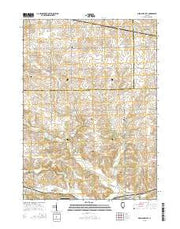 German Valley Illinois Current topographic map, 1:24000 scale, 7.5 X 7.5 Minute, Year 2015 from Illinois Maps Store
