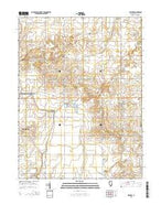 Gifford Illinois Current topographic map, 1:24000 scale, 7.5 X 7.5 Minute, Year 2015 from Illinois Map Store