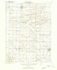 Good Hope Illinois Historical topographic map, 1:62500 scale, 15 X 15 Minute, Year 1916