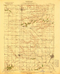 Good Hope Illinois Historical topographic map, 1:62500 scale, 15 X 15 Minute, Year 1918