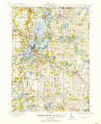 Grays Lake Illinois Historical topographic map, 1:62500 scale, 15 X 15 Minute, Year 1920