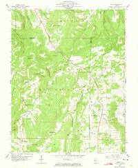 Herod Illinois Historical topographic map, 1:24000 scale, 7.5 X 7.5 Minute, Year 1959