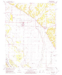 Hull Illinois Historical topographic map, 1:24000 scale, 7.5 X 7.5 Minute, Year 1978