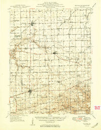 Kansas Illinois Historical topographic map, 1:62500 scale, 15 X 15 Minute, Year 1949