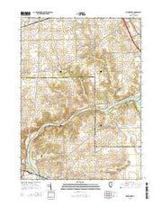 Kishwaukee Illinois Current topographic map, 1:24000 scale, 7.5 X 7.5 Minute, Year 2015 from Illinois Maps Store