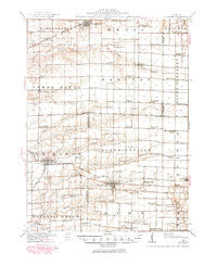 La Harpe Illinois Historical topographic map, 1:62500 scale, 15 X 15 Minute, Year 1918